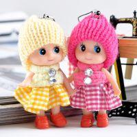 正版原创迷糊娃娃 可爱小丑款时尚玩偶 创意挂件批发 8厘米