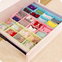 B984 居家必备8格多用途可叠加内衣袜子饰品收纳盒置物盒