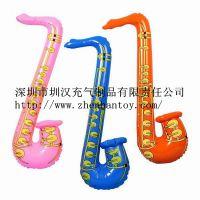 专业生产PVC充气乐器 充气萨克斯风 萨克斯风 充气玩具 质量可靠