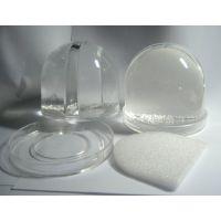 工艺品厂家供应直径8.5, 高9CM 迷你塑料(亚克力)相片水晶球(图)