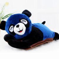 550 冬季超可爱趴趴熊可拆洗双插手热水袋电暖袋 未注水