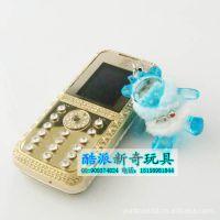 酷派新奇玩具 可爱手机挂件 迷你手机链 可爱小熊手机链