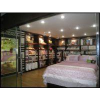 高档品牌服装店床上用品店设计装修 精品展柜陈列柜 中岛展示柜