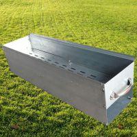 50公分商用加厚冷轧板铁烧烤炉子家用户外便携木炭烧烤架箱批发