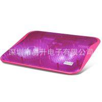 供应[红色]RL-607 冰锐冰玄Ⅱ超薄型笔记本散热器 散热垫批发