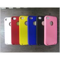 供应苹果4手机壳 4s 手机套 保护套/保护壳 彩壳硅胶套 超薄外壳 批发