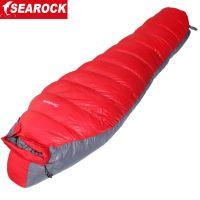-32度冬季户外羽绒睡袋超轻可拼接情侣90%鸭绒黑冰睡袋