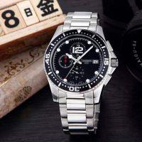 厂家直销 康卡斯潜水系列运动休闲男表 瑞士多功能石英钢带手表