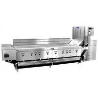 供应YY-4000连续式油炸线使用说明 维护保养 刮板式结构设计