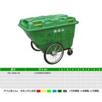 供应山西塑料保洁车三轮保洁车400升