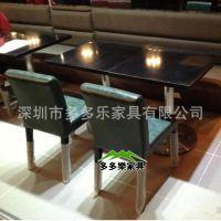 餐桌椅定制 桌子图片 多多乐家具供应直销餐桌椅