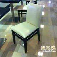供应餐厅金属餐椅 PU餐椅 皮革餐椅 五金皮餐椅 YDH-Y0007