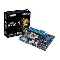 华硕主板 批发 H61M-D 全接口 Intel LGA1155 原装正品 带打印口