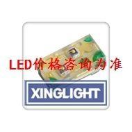代理台湾今台kingbright  APHB1608CGKSYKC绿黄双色 亮度20/80