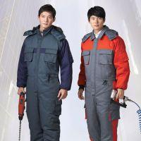 定做防寒连体工作服,冬季防寒保暖连体工作服,订做企业工作服