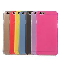 苹果iphone6超薄PC手机壳 60.3mm透明磨砂保护壳防滑外壳 手机套