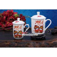 景德镇杯子 聚会用品陶瓷茶杯 庆典礼品陶瓷茶杯