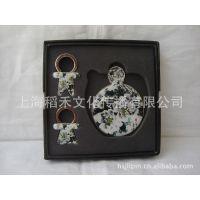 大量供应圆形不碎镜子熊猫 家居用品 特色礼品