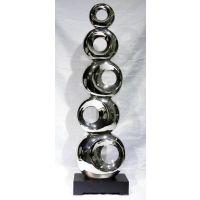 葫芦形铁艺雕塑55连环摆件