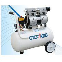 奥突斯30L/750W空压机静音气泵无油空压机木工气泵小型牙科空压机