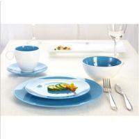 欧式中式餐饮用具 瓷器陶瓷餐具四件套装 碗盘套装