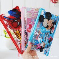 迪士尼文具套装 学生文具用品组合礼品 透明笔袋文具套装奖品多款