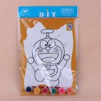 儿童手绘水彩涂鸦画多图套装 幼儿园DIY入门手工制作批发