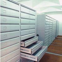 供应钢制档案密集柜厂家定制挂画密集架优质钢制资料柜铁皮文件柜