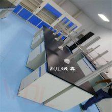 WOL沃霖广州实验台批发厂家 边台 中央台 试剂架 药品柜 实验室家具直销
