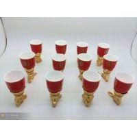 【供应】十二生肖陶瓷酒杯,国庆节送什么礼品好,送老师礼品