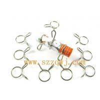 供应双耳紧箍弹簧 抱箍 [规格任选 厂家直销]不锈钢扭力弹簧