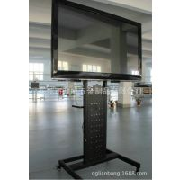 厂家专业订制五金电视机移动铁支架 会议室 商场专用