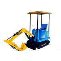 供应质量好价格有的180度旋转儿童游乐挖掘机