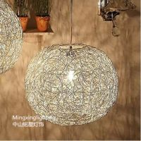 长期供应优质铝花灯 铝编织花瓶落地灯 灯具 树脂灯配件 铝球灯