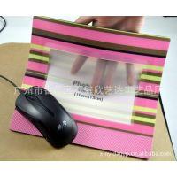 鼠标垫定做 PP相框鼠标垫 EVA鼠标垫 可插照片鼠标垫 通用鼠标垫