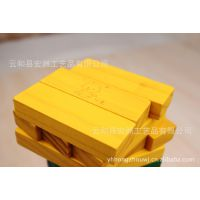 木制玩具  益智玩具/益智积木彩色叠叠高/层层叠54片积木玩具