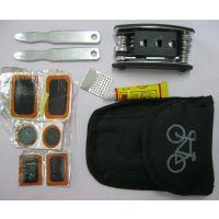 多功能补胎工具套装 多功能组合工具 自行车补胎组合工具