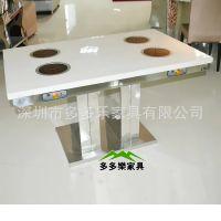 专业生产炭烧实木家具,餐厅高档家具,实木松木大火锅圆桌