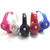 迷你solo2简装 头戴式折叠MP3手机电脑通用耳机 重低音运动DJ耳机