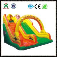 供应广州奇欣儿童充气滑梯 充气弹跳玩具 充气城堡 厂家直销