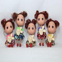 12厘米豹纹迷糊娃娃批发 婚庆礼品 毛绒玩具 新年情人节礼物