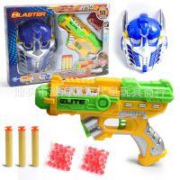 火爆新款穿越勇士软弹枪水弹枪二用手枪玩具 变形金刚4bb子弹枪