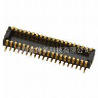 JAE矩形板对板连接阵列边缘夹层式插头WP3-P036VA1-R6000