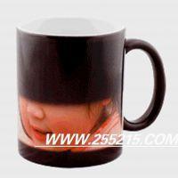 【生产供应】陶瓷变色马克杯 涂层热转印照片变色杯 定制图片