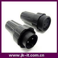 供应品牌M22防水连接器 2芯面板式/组装式IP68大功率防水接头