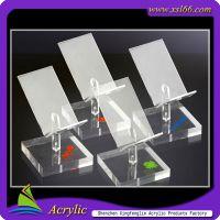 厂家定做手机展示架 有机玻璃手机架 亚克力手机展示架 手机托盘