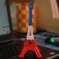 法国巴黎埃菲尔铁塔模型金属摆件32cm大号家居装饰摄影道具批发