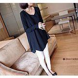 860#新款孕妇装 宽松显瘦大码上衣孕妇T恤 韩版中长款长袖打底衫