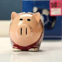 淘宝店铺批发 树脂工艺品 迷你小猪存钱罐 2685-22