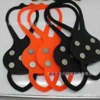湿地防滑鞋垫 简易硅胶防滑冰爪 冬季防滑